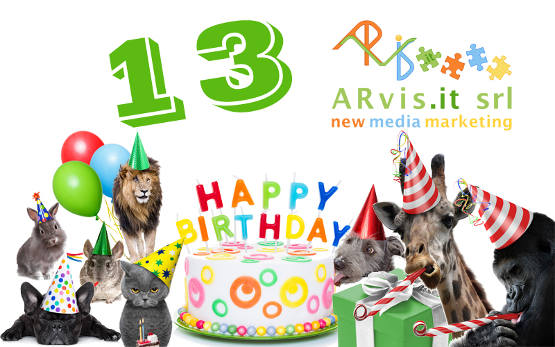 ARvis.it compie 13 anni