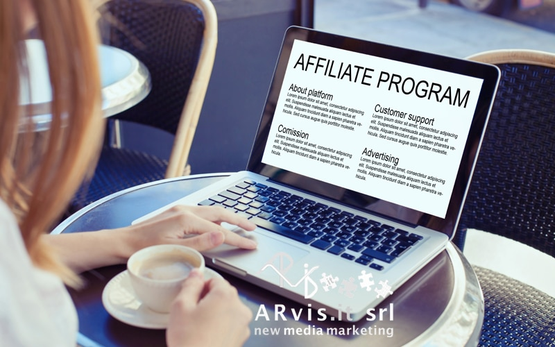 affiliate marketing, strategia di marketing, arvis.it