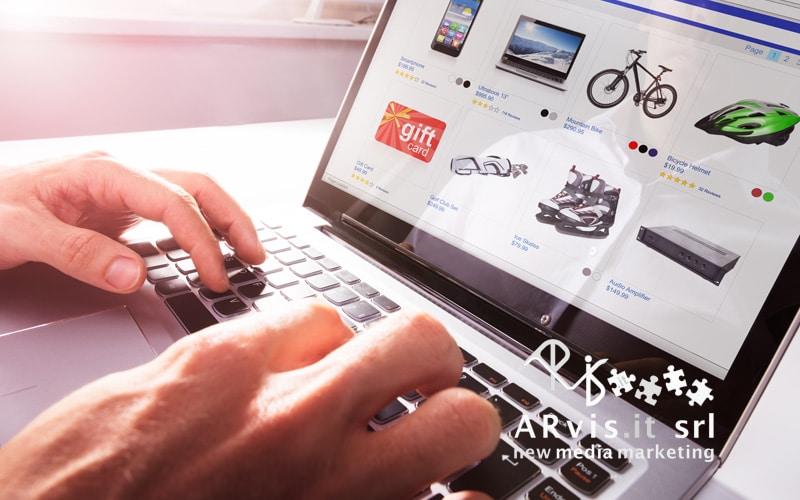bici online, vendita bici online, ecommerce bici, arvis.it